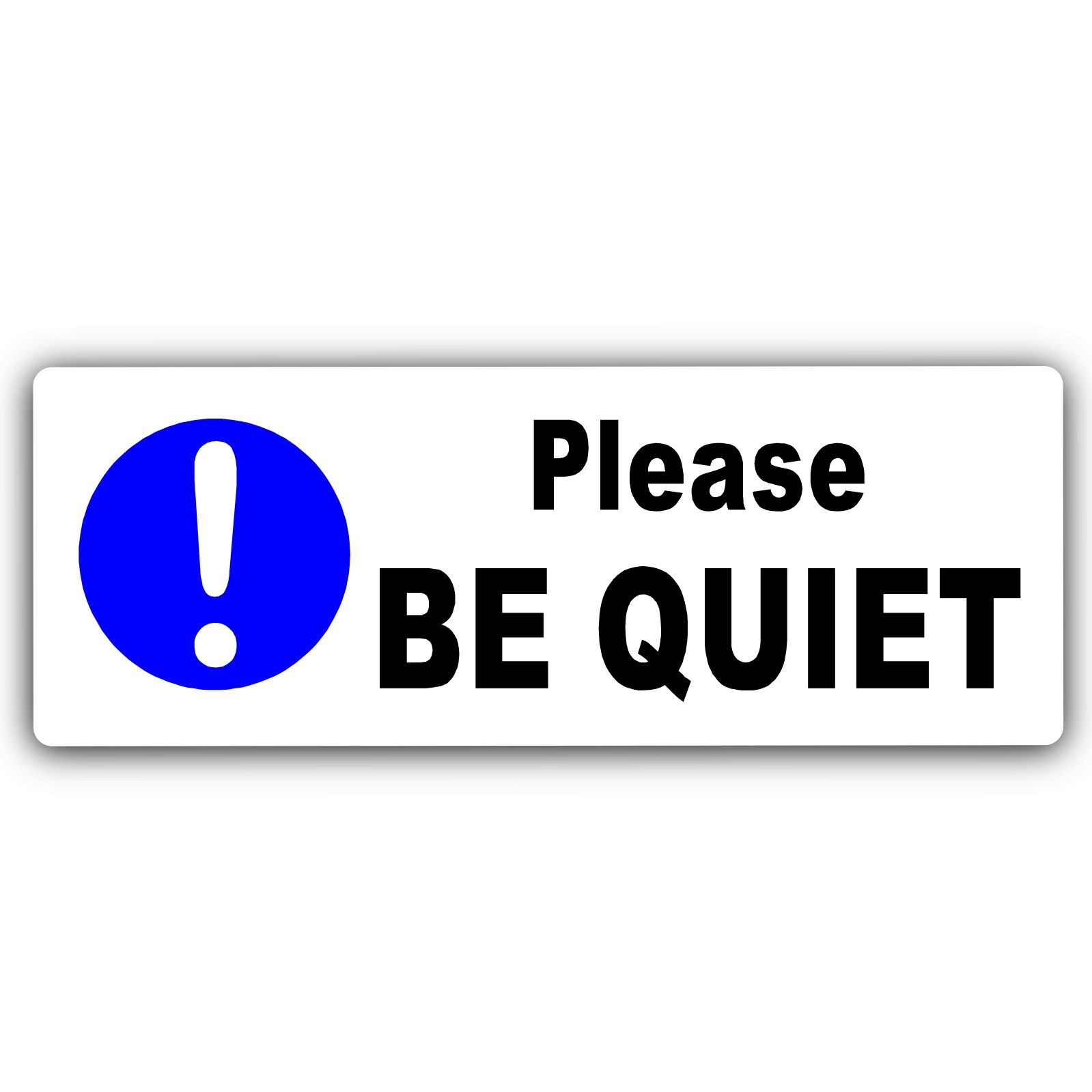photo relating to Printable Quiet Signs known as Printable Tranquil Indicators For Business track record
